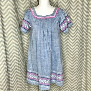 💥 Cat & Jack embroidered dress XL 14/16